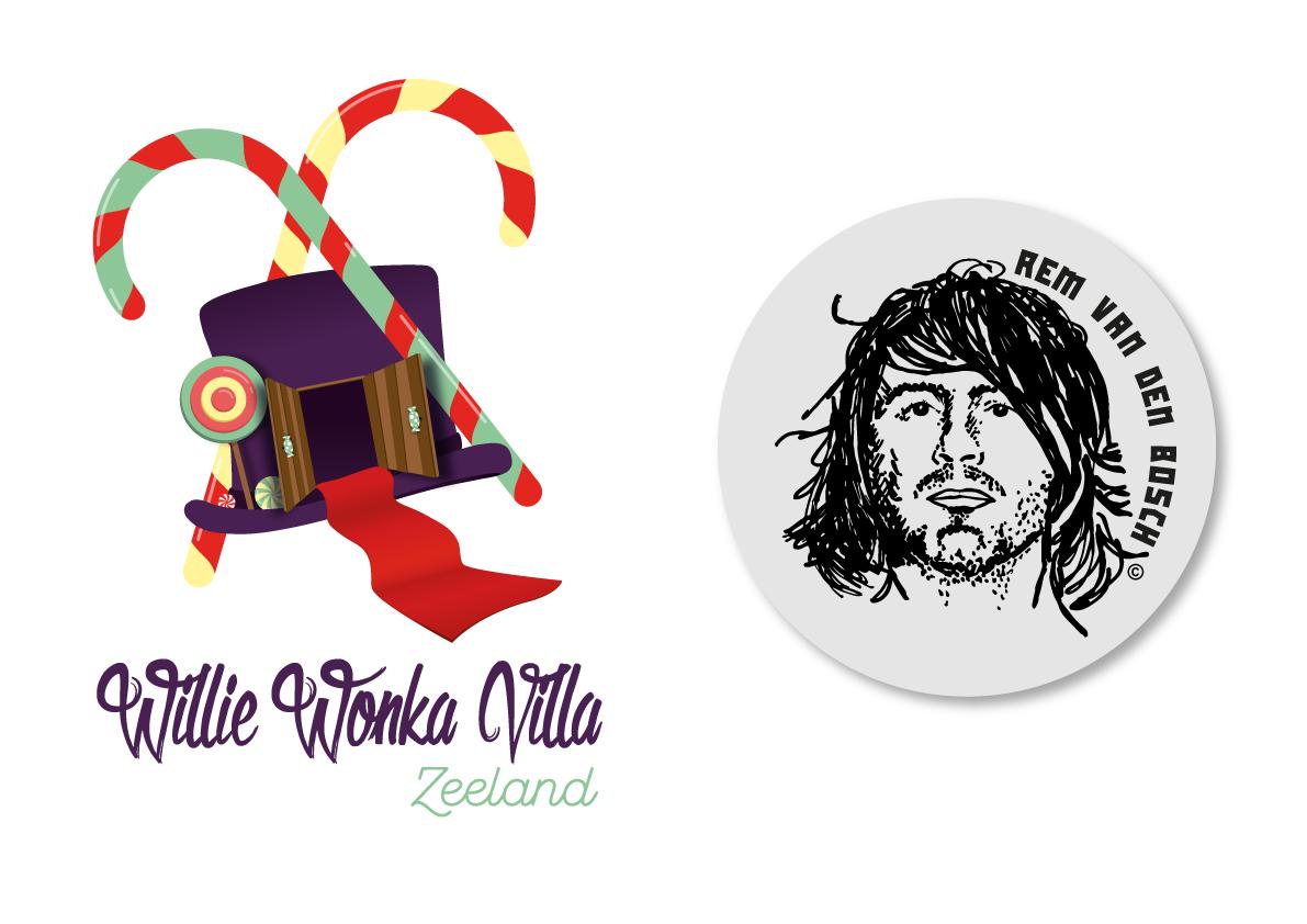 Willie Wonka Villa & Rem van den Bosch